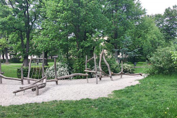Rosenheim Spielplatz Luitpoldpark