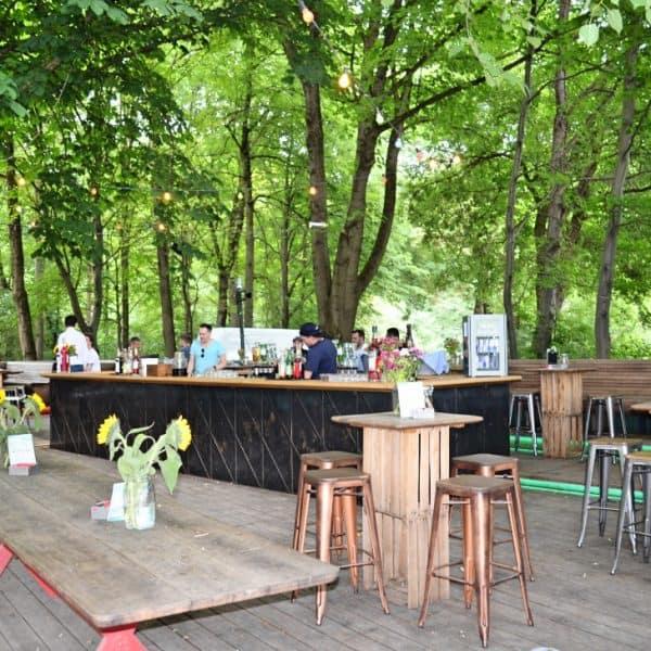 Bar am See im Englischen Garten Biergarten mit Spielplatz in München, recommended by the urban kids
