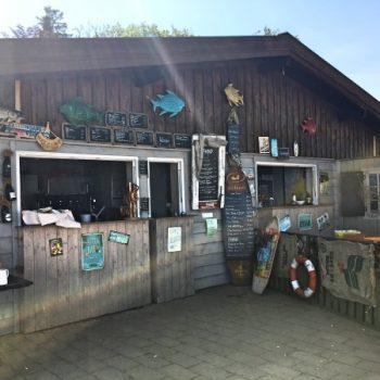 Kleines Seehaus am Starnbergersee mit Kindern