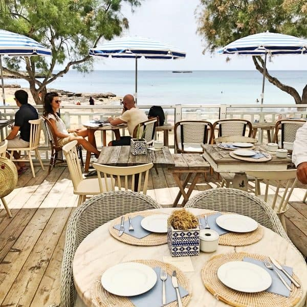 Cassai beach house in Colonia de Sant Jordi, Mallorca, kinderfreundliches Restaurant direkt am Strand