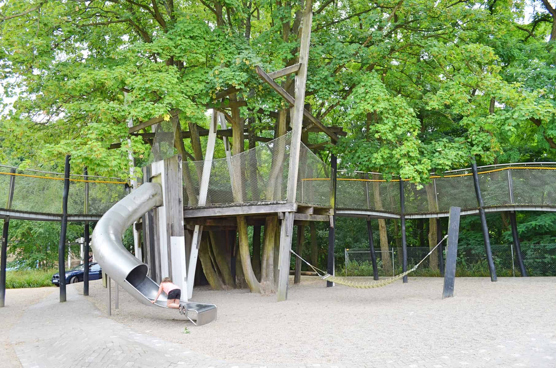 ADVENTURE PLAYGROUND WITH VIEW OVER KOBLENZ