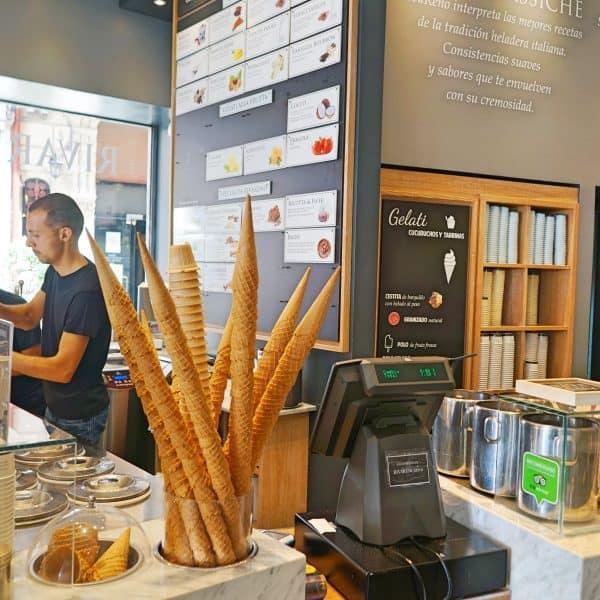 Rivareno Heladeria, Palma de Mallorca, homemade ice-cream, bestes Eis Palmas