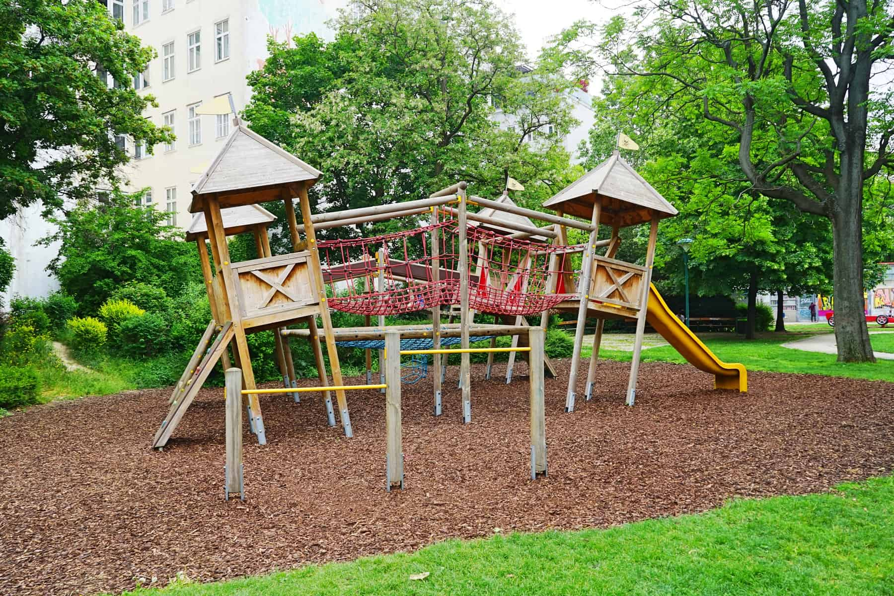 Vienna with kids – Playground Alfred-Grünwald-Park