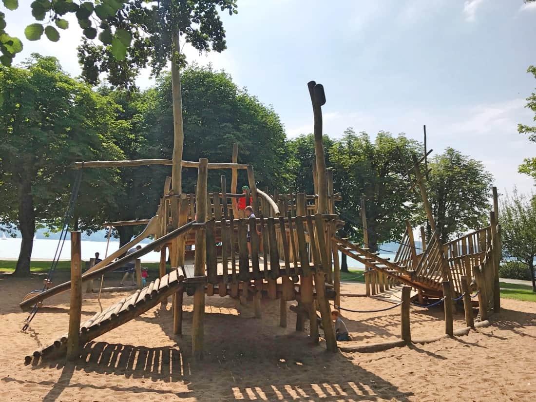 Klettergerüst Schiff : Spielplatz am starnberger see recommended by the urban kids