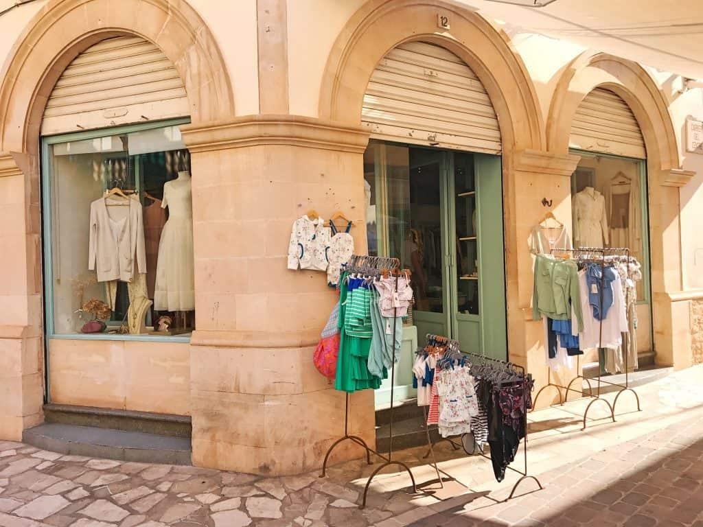 Kindergeschäft, Kinderladen, Santanyi, Mallorca