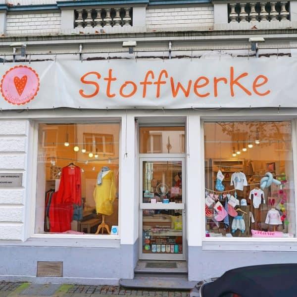 Kindergeschäft Stoffwerke in Düsseldorf Flingern, individuelle Anfertigungen