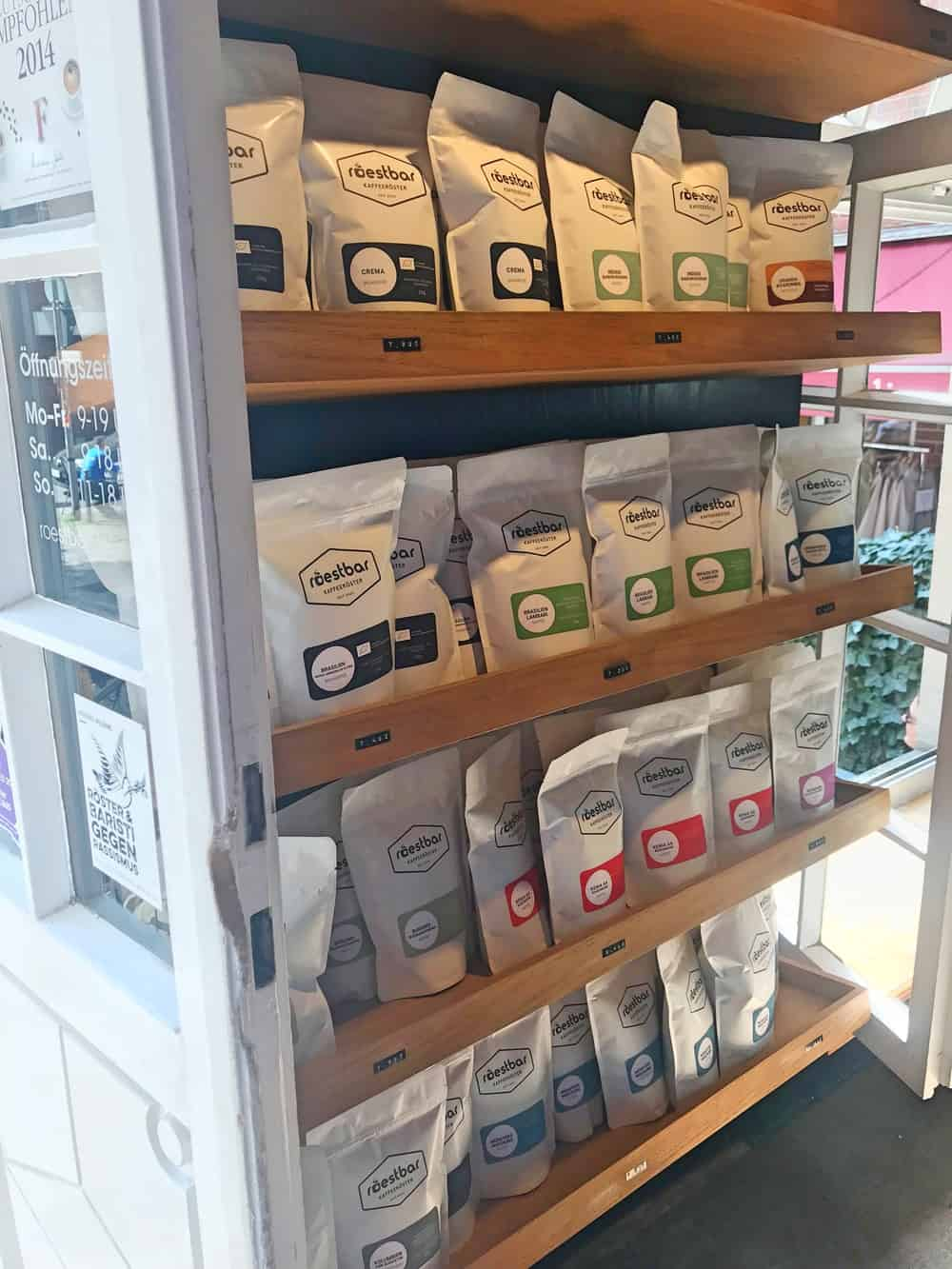 CAFÉ RÖSTBAR IN MÜNSTER