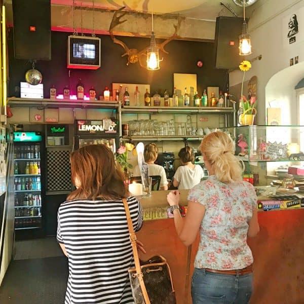 Café Fyal Central in Münster, kinderfreundlich draußen sitzen