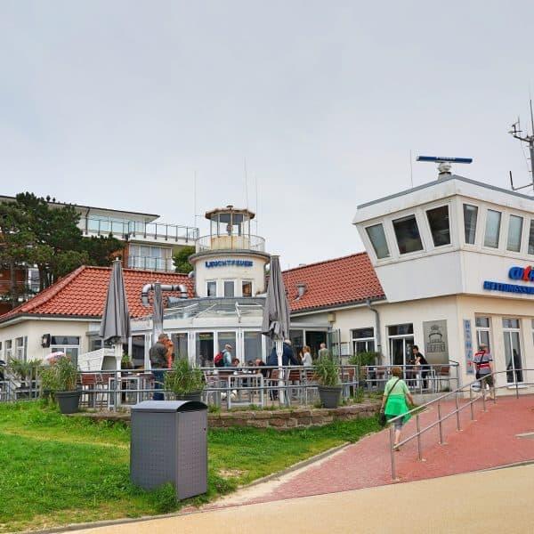 Familienfreundliches Restaurant Leutfeuer in Cuxhaven Duhnen, Kinderhochstühle und Wickelmöglichkeit vorhanden
