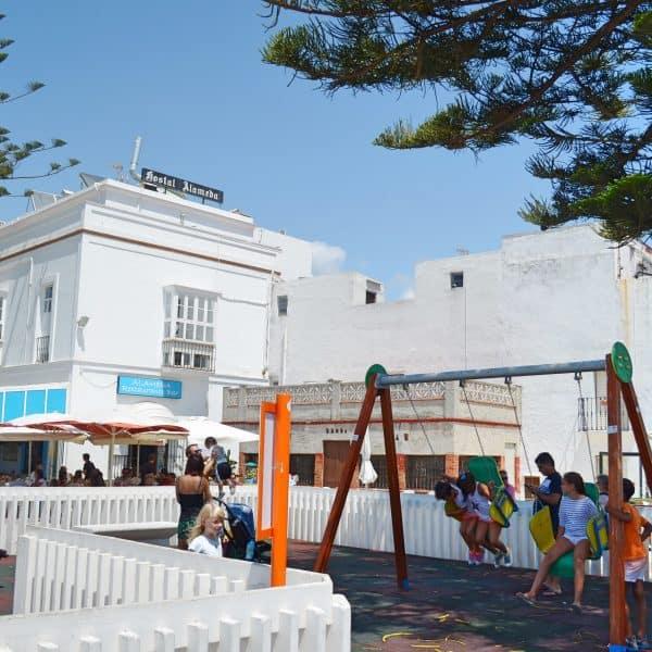 Tarifa playground for kids