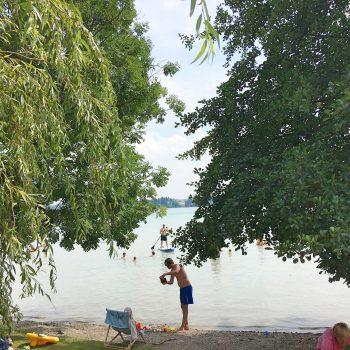 Wörthsee mit Kindern Rossschwemm - München mit Kindern