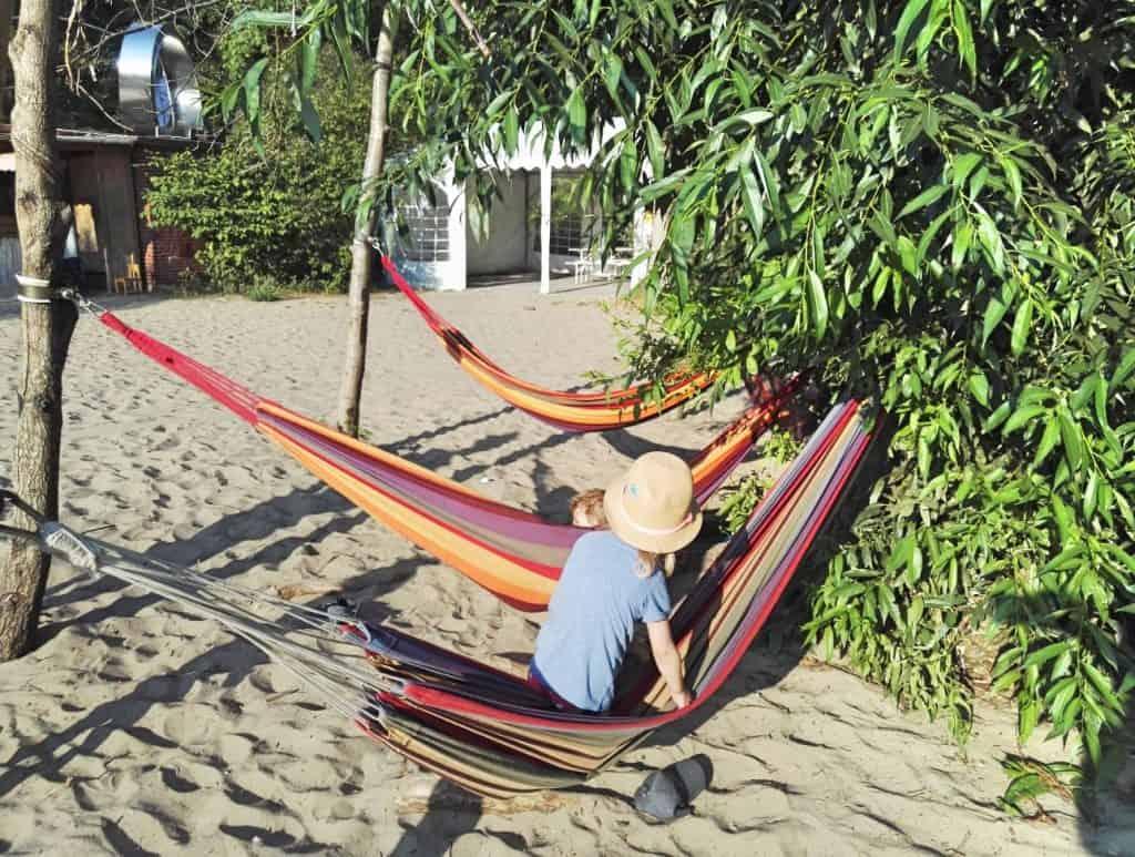 Hamburg mit Kind, Strand mit Kind im Elbecamp Hamburg, familienfreundlich