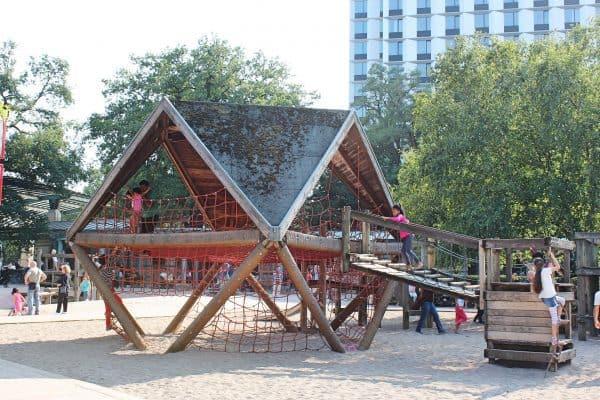 Hamburg Spielplatz Planten und Blomen