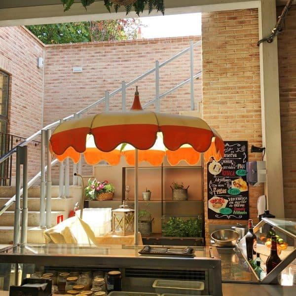 Parque el Retiro in Madrid mit Kindern - Florida Retiro Restaurant