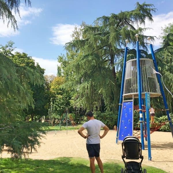 Parque el Retiro in Madrid mit Kindern - Spielplatz