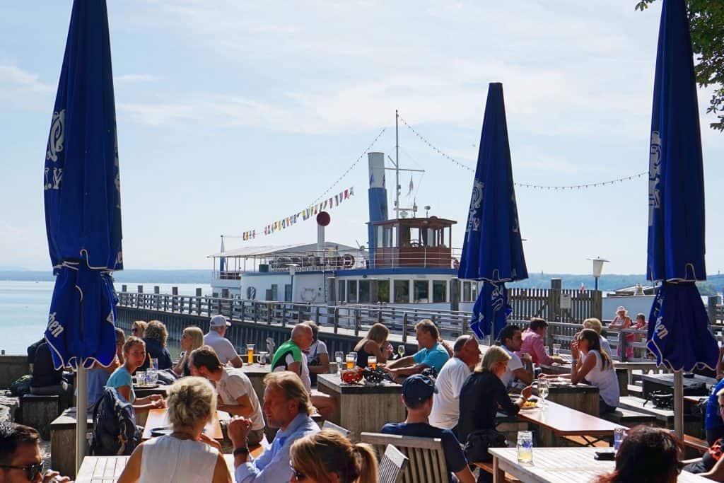 Ammersee Restaurant Fischer, Ammersee mit Kind, kinderfreundliches Restaurant, Ausflug mit Kind, Münchener Umland