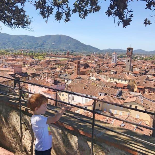 Toskana mit Kind, Ausflugsziel Lucca, Familienurlaub Italien