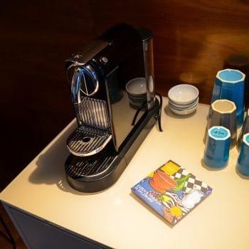 Boutique Hotel Auersperg für Familien in Salzburg; Tee- und Kaffeebar in jedem Zimmer
