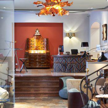 Foyer im familienfreundlichen Hotel Auersperg in Salzburg