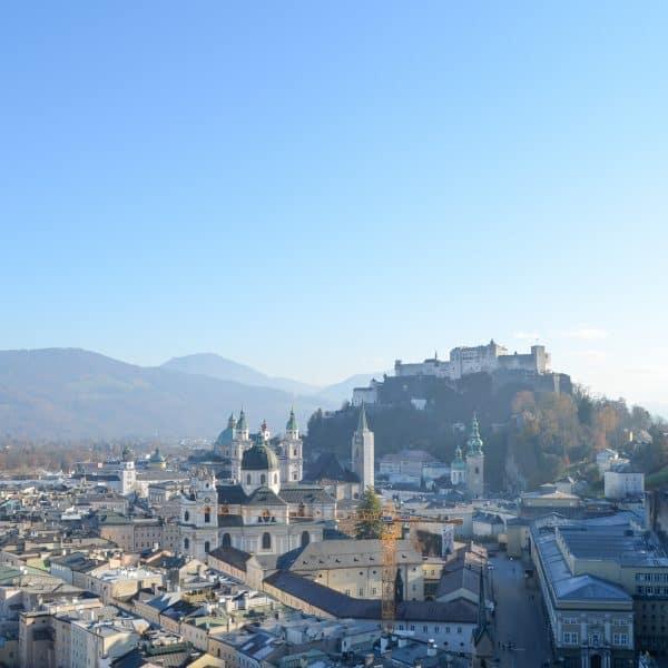 Mönchsberg in Salzburg mit Kindern