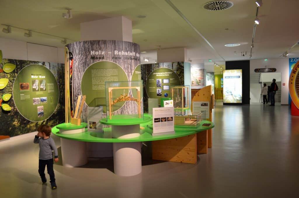 Kindergerechtes Museum Haus der Natur mit Kindern in Salzburg; Nachhaltig Leben