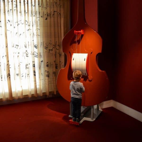 Kindergerechtes Museum Haus der Natur mit Kindern in Salzburg; Mozart Ausstellung