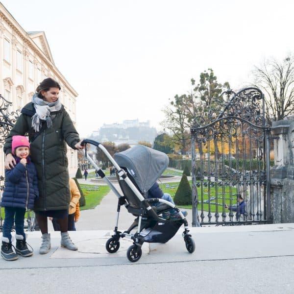 Entdeckungsreise durch Salzburg mit Kindern und Bugaboo