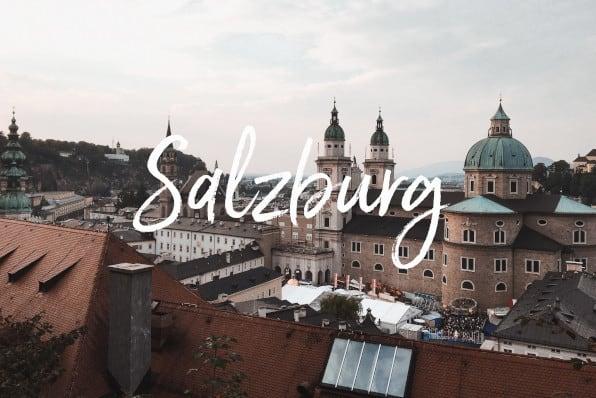 Salzburg mit Kind