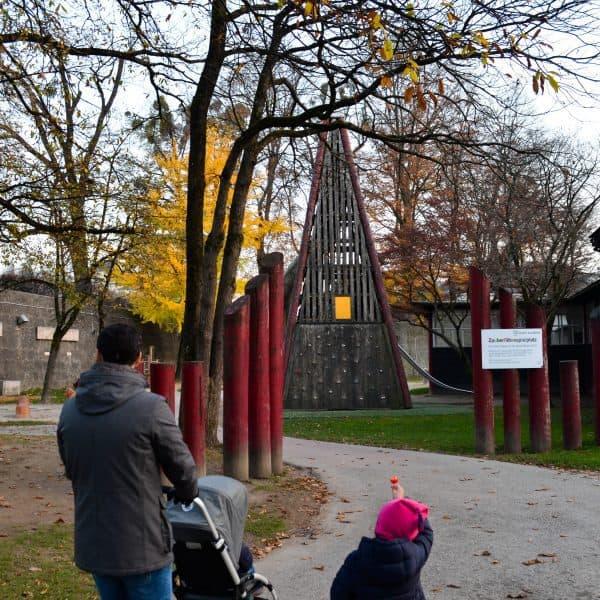 the urban kids Spielplatz in Salzburg Zauberflötenspielplatz, the urban kids