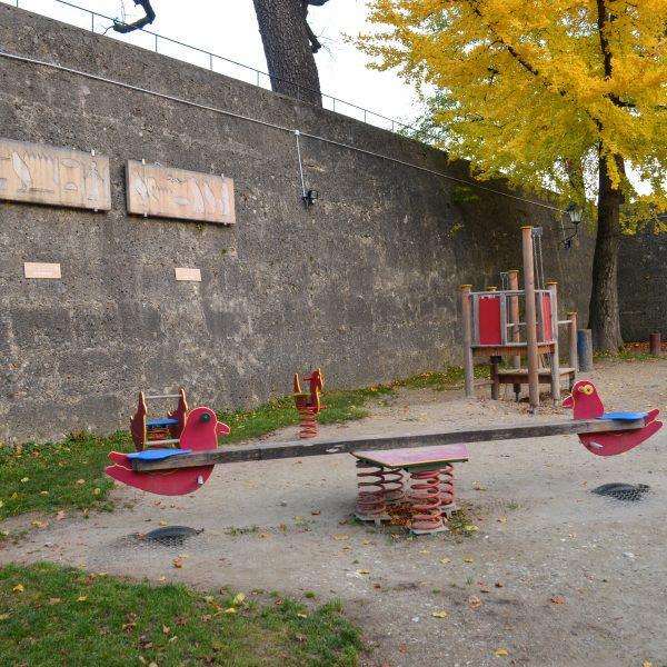 the urban kids Spielplatz in Salzburg Zauberflötenspielplatz