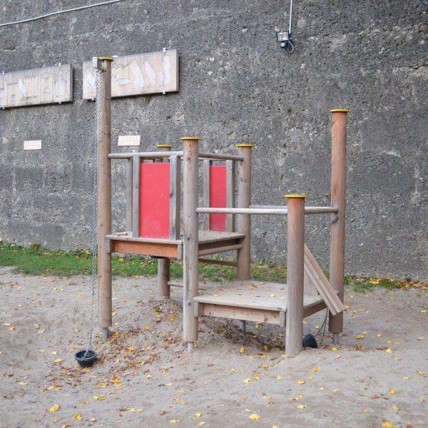 the urban kids Spielplatz in Salzburg Zauberflötenspielplatz, Kleinkindbereich