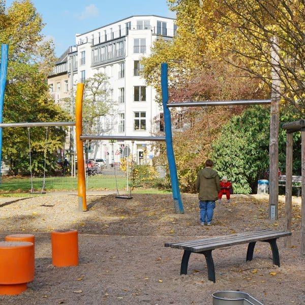 Spielplatz Schillerplatz, Kinderspielplatz Düsseldorf-Zoo, playground