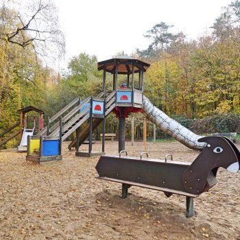 Tierpark Tannenbusch in Dormagen, bei Düsseldorf, Wildpark mit Streichelzoo