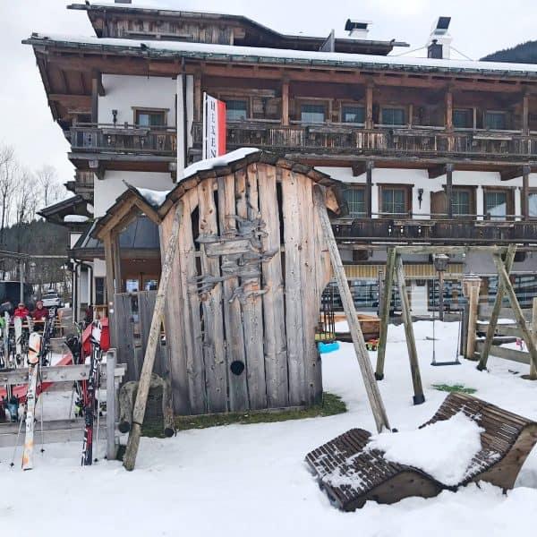 Skifahren mit Kindern in Österreich, Söll, Wilder Kaiser, Brixental, Hexengarten,