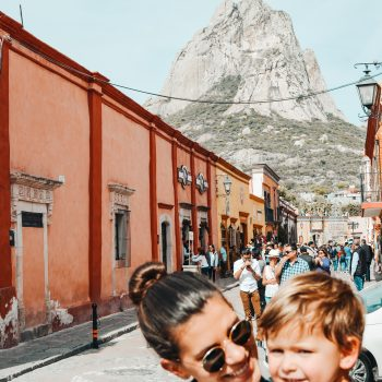 Visiting Bernal in Mexico with kids