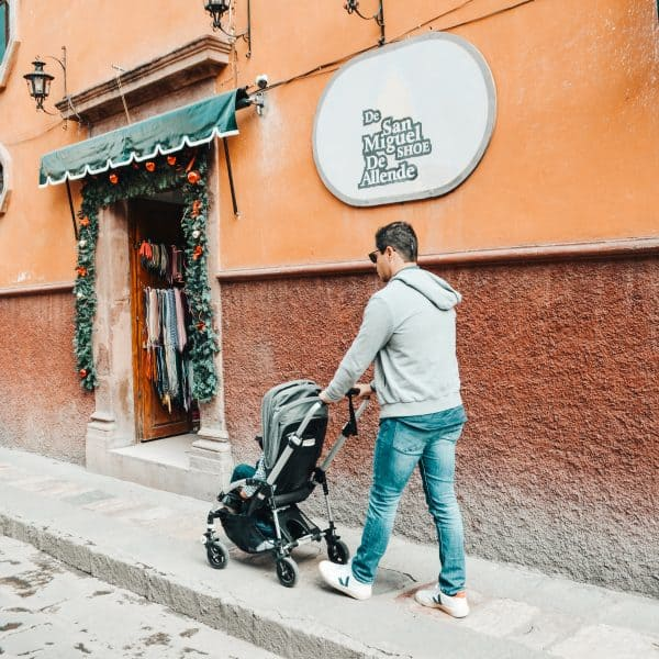 Mexico with kids_bugaboo