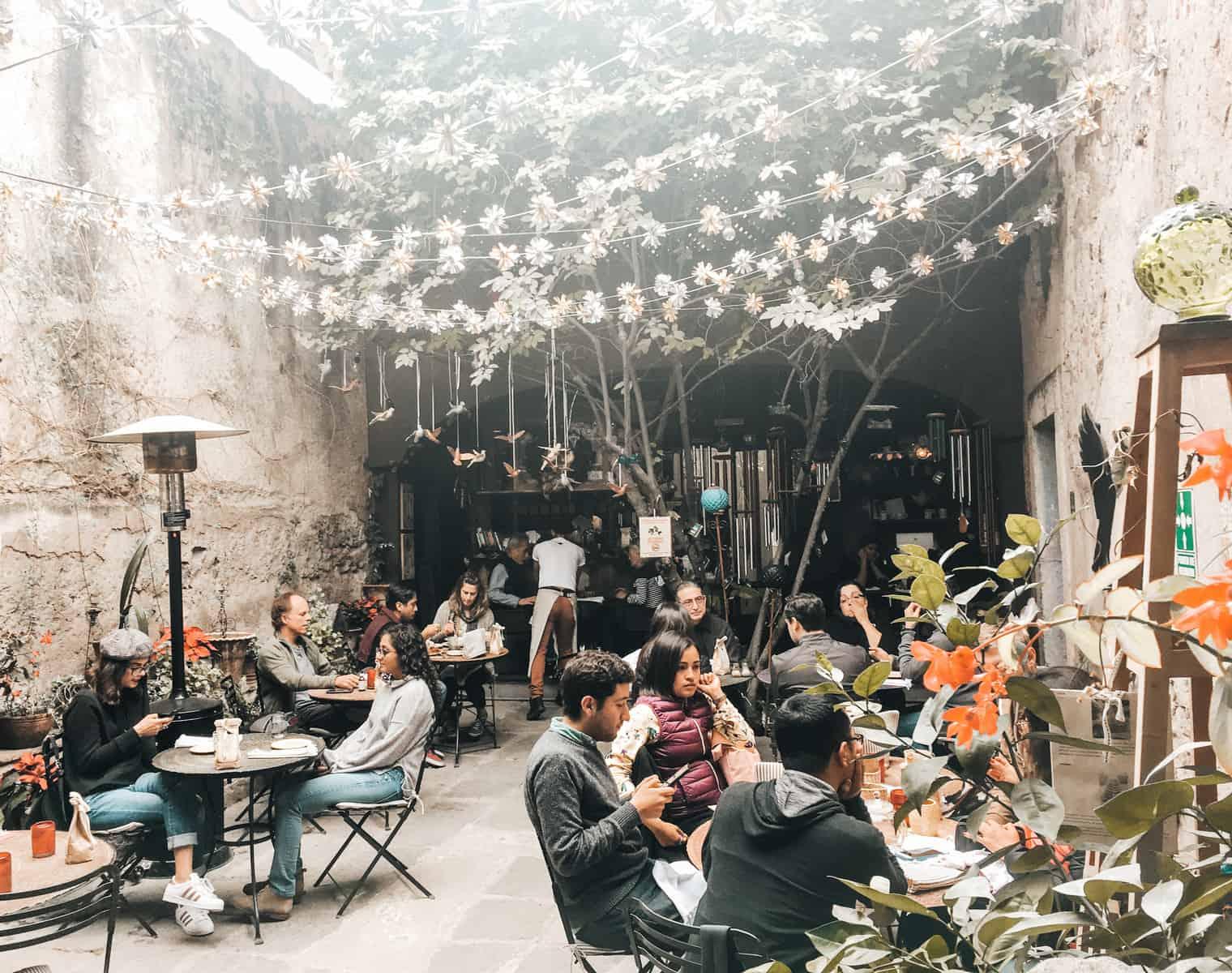 KINDERFREUNDLICHES CAFÉ IN SAN MIGUEL MIT KINDERN