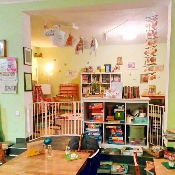 Kinderfreundliches Angercafé in Düsseldorf Urdenbach, Kindercafe, familienfreundlich