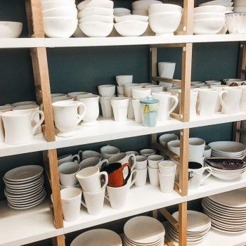 Keramik zum bemalen bei froh + bunter in München mit Kind