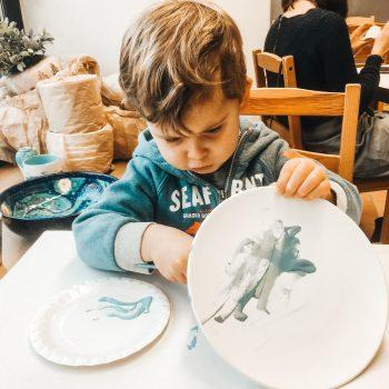 Keramikwerkstatt in München mit Kindern Indoor-Aktivität in München