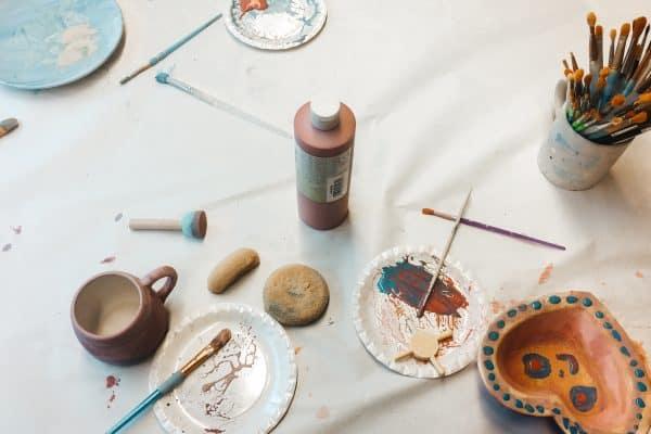 froh + bunter_Kunst für Kinder in München_Keramik selbst gestalten