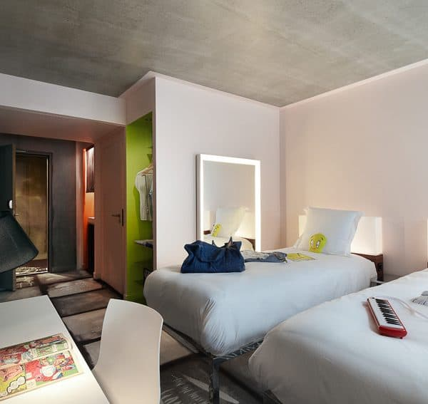 mama shelter; family-friendly hotel Lyon, interior