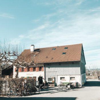familienfreundliche Ziegelhütte in Zürich mit Kind