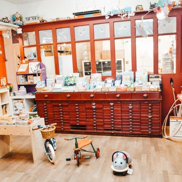 Empfehlenswerter Kinderladen in Bern mit Kindern - Bilboquet