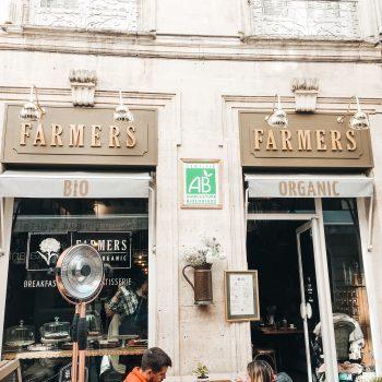 Gesundes Frühstück in Nimes - Kinderfreundliches Café in Nimes - Frankreich mit Kindern
