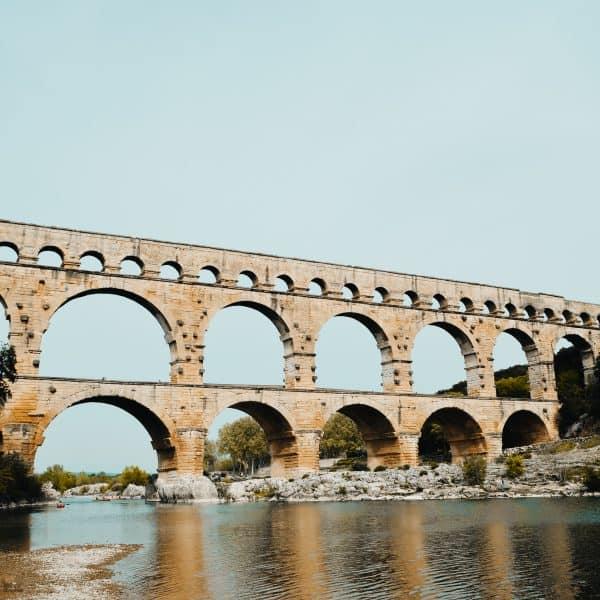 Familienausflug zum Pont du Gard Frankreich mit Kindern