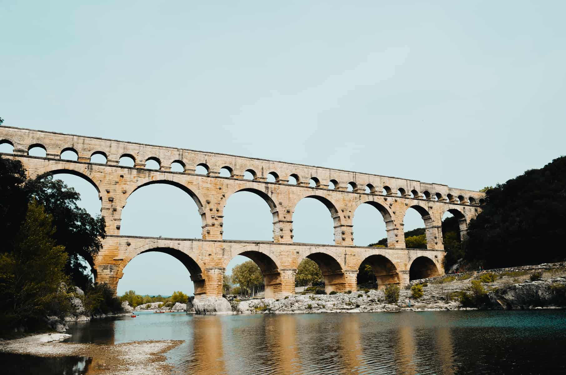 FAMILY TRIP TO THE PONT DU GARD IN NIMES