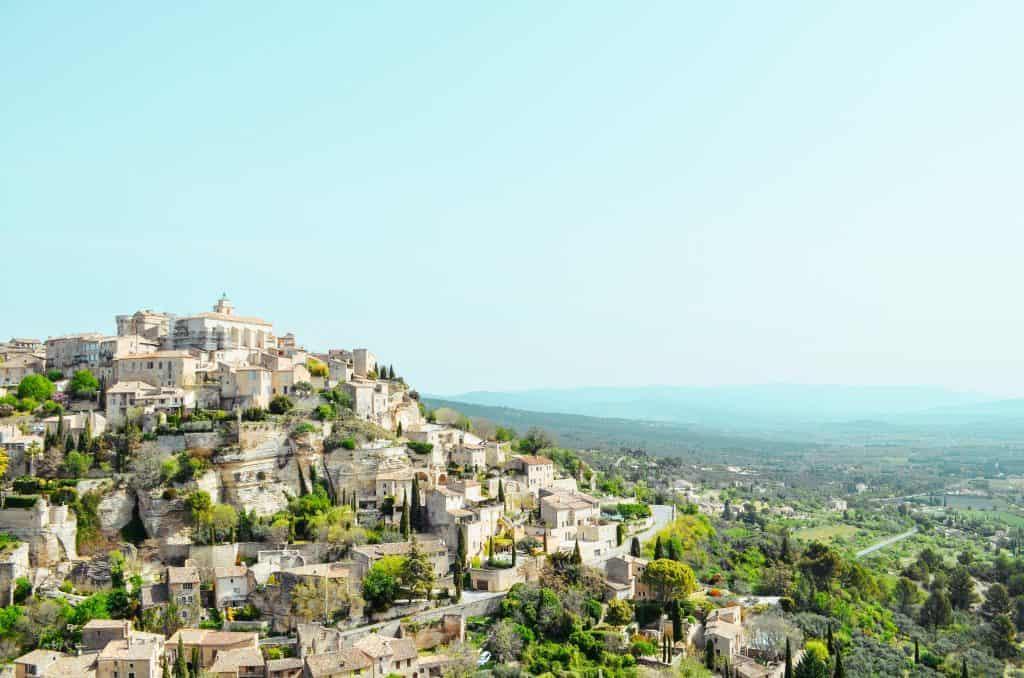 Unterwegs in Frankreich mit Kindern - Tagesausflug nach Gordes - Provence with kids
