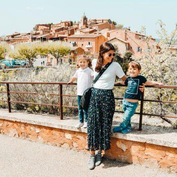 Unterwegs in Frankreich mit Kindern - Tagesausflug nach Rousillion - Provence with kids2