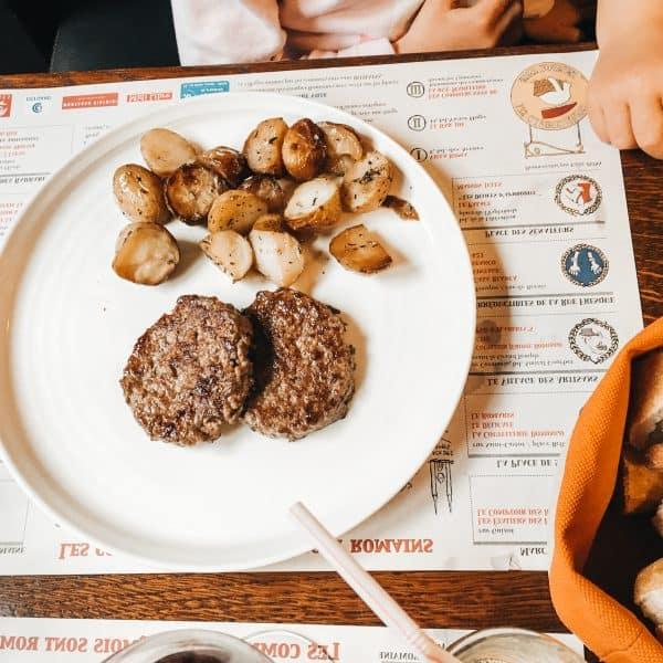 family-friendly Restaurant in Nimes l'harmonie - kids menu